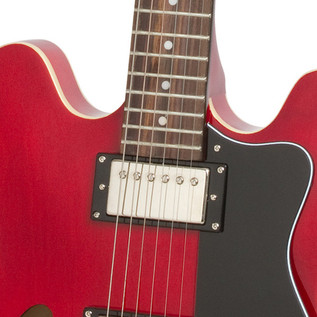 Epiphone Dot Semi-Hollow Electric Guitar, Cherry 3