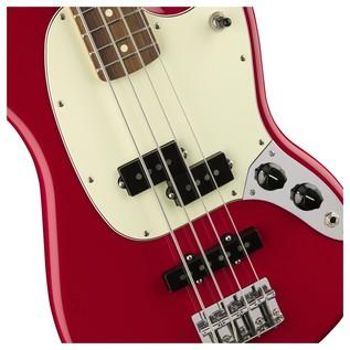 Fender Mustang Bass, Red
