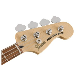 Fender Deluxe Active P Bass Special, Pau Ferro, Olympic White Headstock