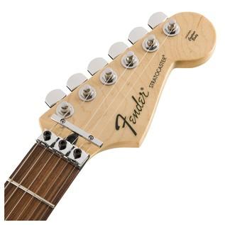 Fender Standard Strat HSS, Pau Ferro, Floyd Rose, Olympic White Headstock