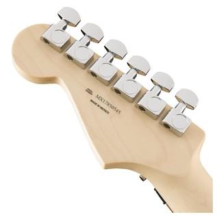 Fender Standard Strat HSS, Pau Ferro, Floyd Rose, Olympic White Headstock Back