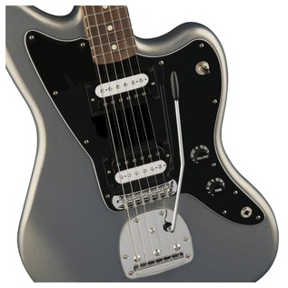 Fender Standard Jazzmaster HH, Pau Ferro, Ghost Silver Controls