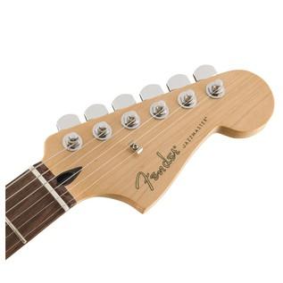 Fender Standard Jazzmaster HH, Pau Ferro, Ghost Silver Headstock
