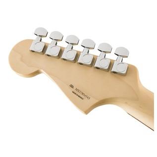 Fender Standard Jazzmaster HH, Pau Ferro, Black Headstock Back
