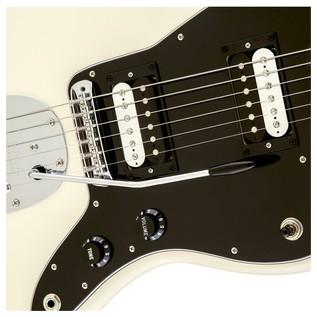 Fender Standard Jazzmaster HH, Pau Ferro, Olympic White Controls