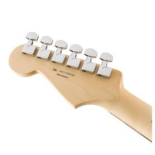 Fender Standard Strat HSH, Pau Ferro, Ghost Silver Headstock Back