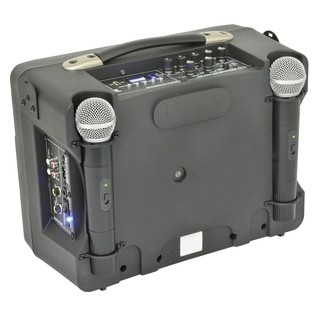 Adastra DT50 Portable PA, Rear