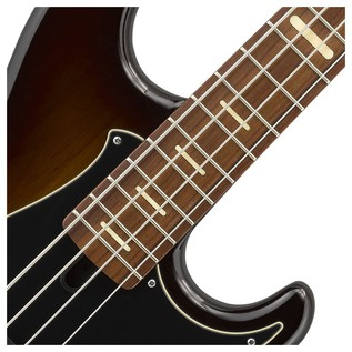 BB 734A 4-String Bass Guitar, Dark Coffee Sunburst