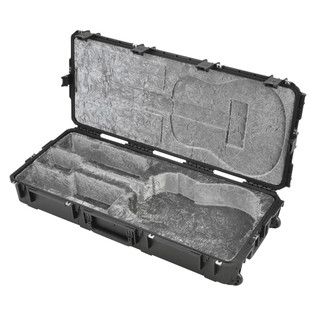 SKB Waterproof Dreadnought Acoustic Guitar Flight Case, with Wheels