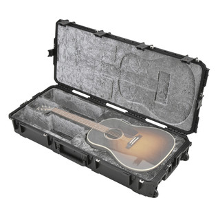 SKB Waterproof Dreadnought Acoustic Guitar Flight Case (Guitar Not Included)