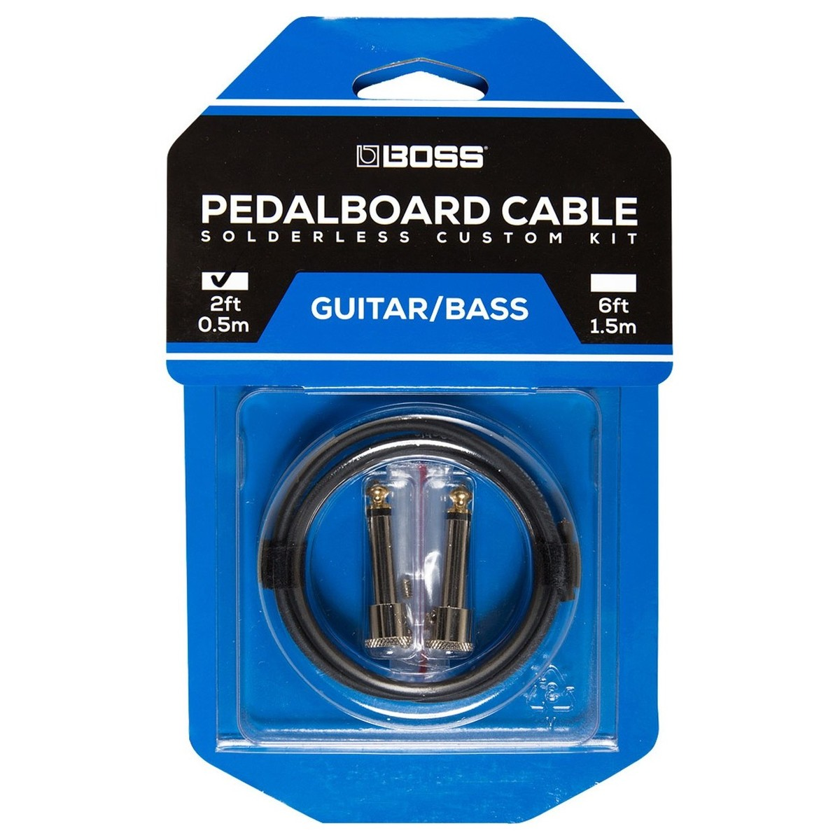 Click to view product details and reviews for Boss Bck 2 Solderless Pedalboard Cable Kit.