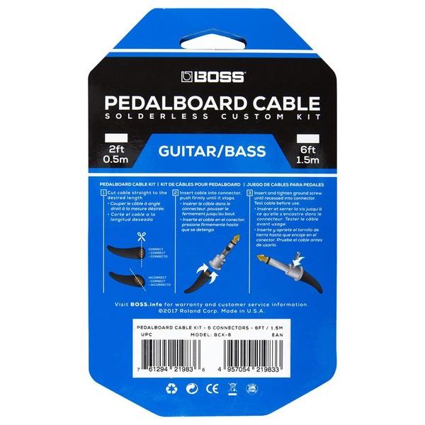Boss BCK-6 Solderless Cable Kit