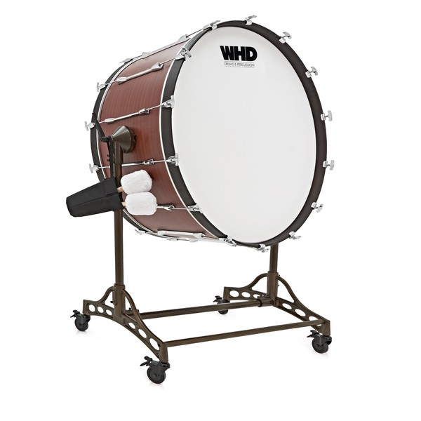 "WHD 36"" X 18"" Concert Bass Drum with Tilting Stand"