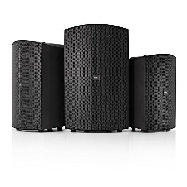 "SubZero SZS-P10DSP 10"" Active DSP Speaker Pair"