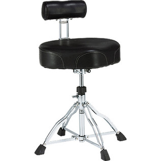 Tama HT741 First Chair Ergo Rider Drum Throne with Back Rest