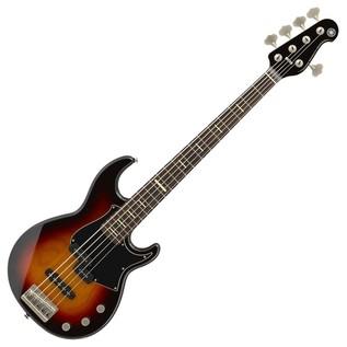 Yamaha BB P35 5-String Bass Guitar, Vintage Sunburst