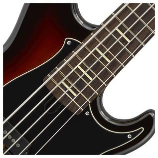 BB P35 5-String Bass Guitar, Vintage Sunburst