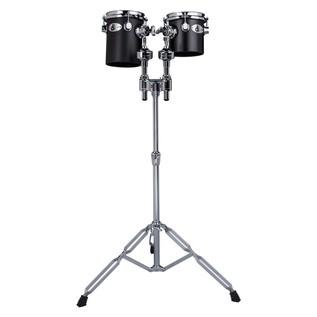 Ddrum Deccabon Fiberglass Set: 6'' & 8'' w/Stand