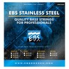 EBS Northern Lights LC Stainless-Steel Bass Strings, Medium