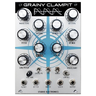 Studio Electronics Grainy Clampit Additive Oscillator Module - Front