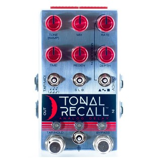 Chase Bliss Audio Tonal Recall Analogue Delay Pedal, Red Knob