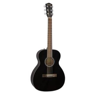 Fender CT-60S Acoustic Guitar, Black Front