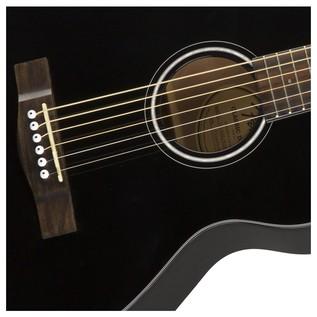 Fender CT-60S Acoustic Guitar, Black Soundhole