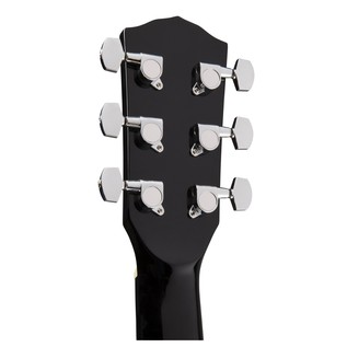 Fender CT-60S Acoustic Guitar, Black Headstock