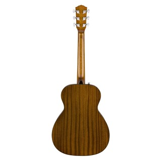 Fender CT-60S Acoustic Guitar, Natural Back
