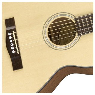 Fender CT-60S Acoustic Guitar, Natural Rosette