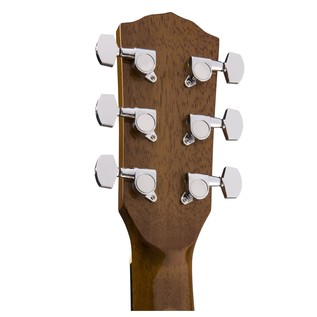 Fender CT-60S Acoustic Guitar, Natural Headstock