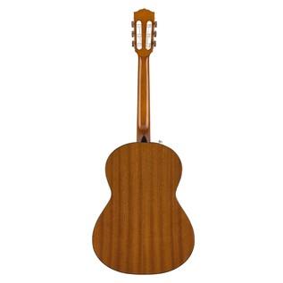 Fender CN-60S Acoustic Guitar, Natural Back