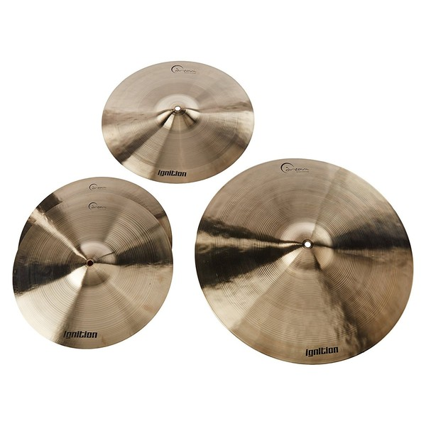Dream Cymbals Ignition Series 3 Piece Cymbal Pack - Large