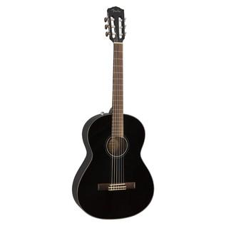 Fender CN-60S Acoustic Guitar, Black Front