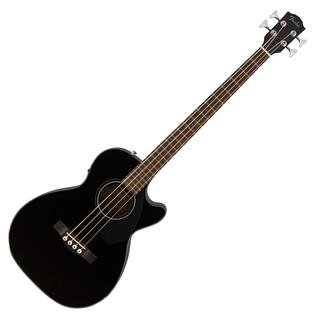Fender CB-60CE Acoustic Bass Guitar, Black