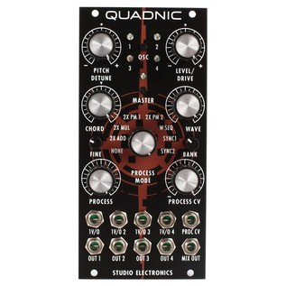 Studio Electronics Quadnic Quad Digital Oscillator - Front