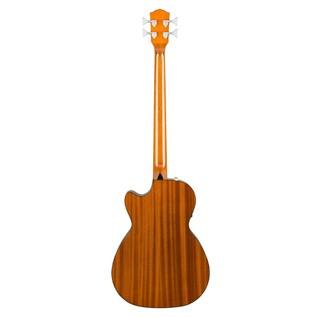 Fender CB-60CE Acoustic Bass Guitar, Natural Back
