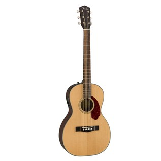 Fender CP-140SE Acoustic Guitar, Natural With Case Front