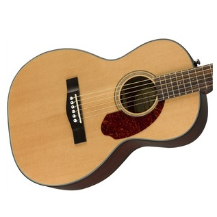 Fender CP-140SE Acoustic Guitar, Natural With Case Body