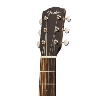 Fender CP-140SE Acoustic Guitar, Natural With Case Headstock