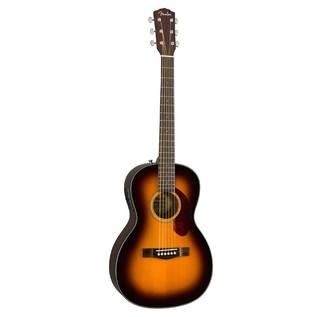 Fender CP-140SE Acoustic Guitar, Sunburst With Case Front