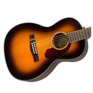 Fender CP-140SE Acoustic Guitar, Sunburst With Case Body