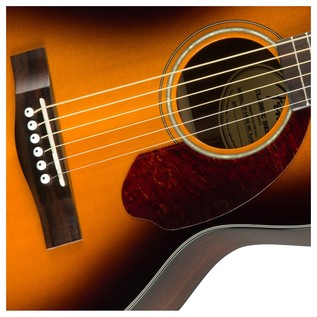 Fender CP-140SE Acoustic Guitar, Sunburst With Case Rosette