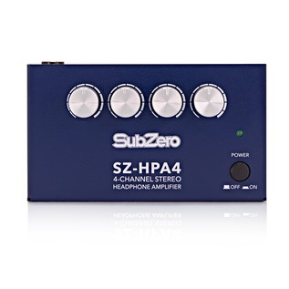 SubZero SZ-HPA4 4 Channel Headphone Amp