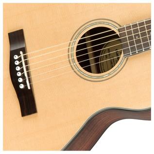 Fender CT-140SE Acoustic Guitar, Natural With Case Rosette