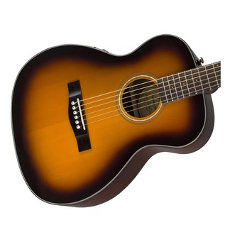 Fender CT-140SE Acoustic Guitar, Sunburst With Case Body