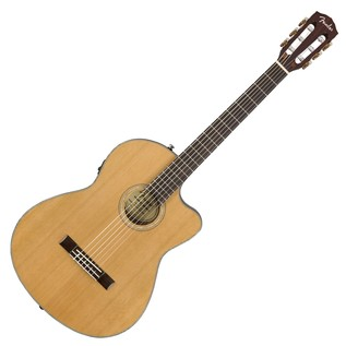 Fender CN-140SCE Acoustic Guitar, Natural With Case