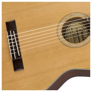 Fender CN-140SCE Acoustic Guitar, Natural With Case Rosette
