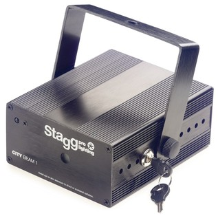 Stagg City Twinkle RGY Laser Effect