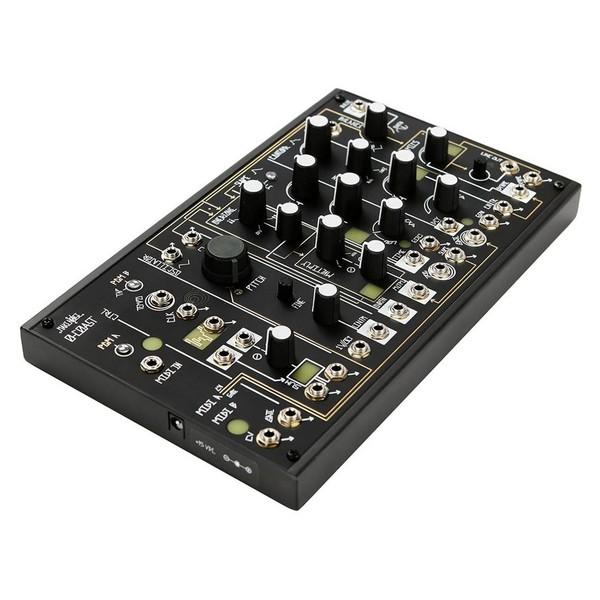 Make Noise 0-Coast Single Voice Patchable Synthesizer - Angled
